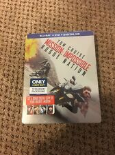 Mission: Impossible - Rogue Nation (Blu-ray + DVD + Digital HD, STEELBOOK (NEW)
