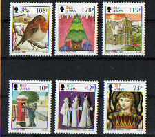 ISLE OF MAN 2013 CHRISTMAS SET OF 6 UNMOUNTED MINT,MNH
