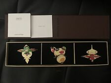 New Louis Vuitton Barrettes Hair Pins Murakami 3 Panda Onion Head Flower Boy Set
