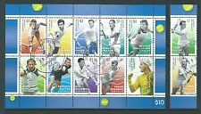 AUSTRALIA 2016 TENNIS PLAYERS SET OF 12 FINE USED