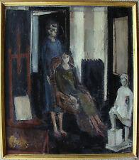 Im Atelier, unbekannter Maler, um 1940