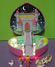 Polly Pocket Mini ♥ Herz Schloss ♥ Starlight Castle ♥ 100% Complete ♥ 1992 ♥