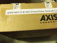 Axis 0358-001 M3113-R M12 2MM Surveillance Security Network Cam Camera