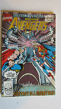 Avengers Comic Book 'The Terminus Factor' part 5 of 5. Marvel Comics, Stan Lee.