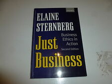 Just Business - Business Ethics in Action - Paperback - 17 Aug 2000 Version