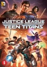 JUSTICE LEAGUE VS TEEN TITANS -  DVD - New & sealed PAL Region 2