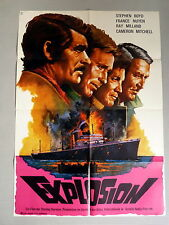 EXPLOSION * BOYD, MILLAND, MITCHELL - A1-Filmposter - 1-Sheet 1975