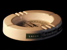 GRAND CENDRIER  CERAMIQUE BIERE HEINEKEN BAR PUB ST CLEMENT ASHTRAY COLLECTOR LA