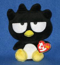 TY BADTZ-MARU BEANIE BABY - MINT with MINT TAGS  (HELLO KITTY SANRIO)