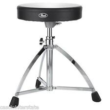 Pearl D730S Drum Throne Single Braced Round Padded
