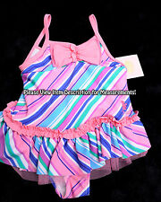 NWT NEW JUICY COUTURE Girls Toddlers Lined Swim Suit Swimwear Size 18/24 Months