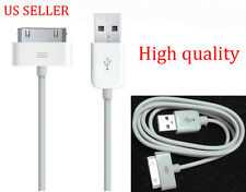 USB Data Charger Cable for Apple iPhone 4S 4 3GS i Pod Touch i Pad Sync Cord