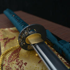 hand made full tang 1060 carbon steel blade japanese Katana samurai sword sharp