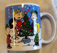 Peanuts SNOOPY A CHARLIE BROWN CHRISTMAS Ceramic Drinking MUG CUP