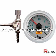 R-Spec Turbo Boost Controller MBC & 52mm BAR Boost Gauge Kit - Any Turbo Car