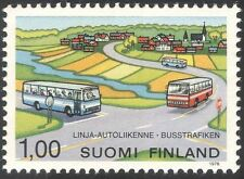 Finland 1978 Bus Service/Coach/Motors/Public Transport/Motoring 1v (n23522)