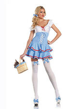 NWT SWEET DOROTHY WIZARD OF OZ Halloween Cosplay Fantasy Costume S/M
