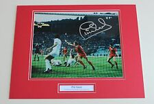 PHIL NEAL Liverpool HAND SIGNED Autograph Photo Mount Memorabilia Display + COA