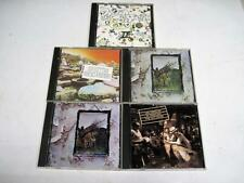 Lot Of 5 Led Zeppeln(Double 1st Album 2nd & 3rd Releases) (CD's) Compact Disks