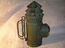 Antique WW2 Maritime, Boat, Signal Lamp Lantern both Hand & Wall, Kerosene?
