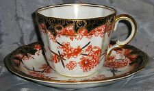 ROYAL CROWN DERBY 1913 IMARI 2649 CUP&SAUCER