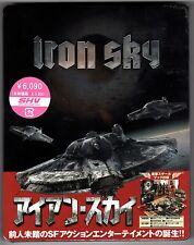 IRON SKY BLU-RAY STEELBOOK NEU & OVP DELUXE EDITION SOLD OUT RARE JAPAN