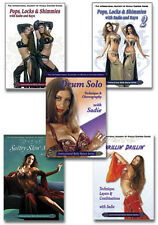Sadie How to Belly Dance DVD Set - 5 DVDs - Most Popular Belly Dancer