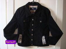 Authentic burberry noir nova carreaux unisexe veste/manteau enfants taille 14 ans