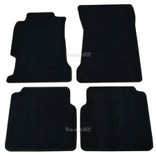 94-97 Honda Accord Black Nylon Front&Rear OEM Cutting Floor Mats Carpet