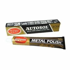 1 x Autosol Solvol Chrome Polish / Cleaner Aluminium & Metal Paste 75ml