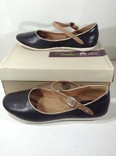 CLARKS Womens Feature Film Black Mary Janes Flats Casual Shoes Size 9.5 ZC-396
