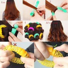 DIY Hair Sticks Hair Curlers Tool Donut Roll Fast Curlers Shaper Small 8pcs/lot