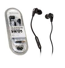 Nuevo 2.0 negro Suprema Auriculares Audífonos Con Micrófono bajo para todos los móviles