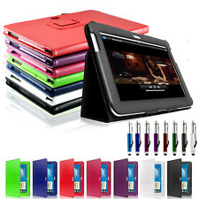Premium Leather Stand Case Cover For SAMSUNG GALAXY NOTE TAB 10.1 N8000