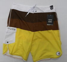Billabong Boardshorts PX3 Platinum Performance  Sz 32 Striker Stack Yellow