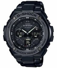Casio G-Shock G-STEEL Analog-Digital World Time GST-S110BD-1B Mens Watch