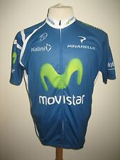 Movistar Spain jersey shirt cycling wielershirt camiseta trikot size XXXL