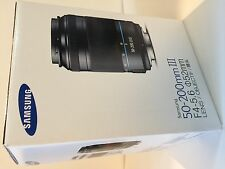 SAMSUNG NX mount 50-200mm F4-5.6  i-Function Zoom Lens - Black - T50200CSB