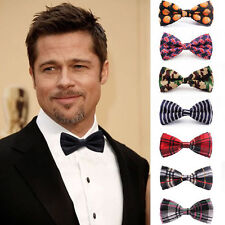 15 Pack mens pretied bowtie Formal Wedding Party self tie bow tie tuxedo necktie