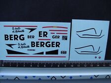 DECALS 1/43 RENAULT ESTAFETTE ANISETTE BERGER - T451