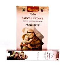 Boite de bâtons encens 15 gr Aromatika Saint Antoine protecteur Miel Rose