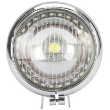 Chrome Passing Spot Fog light angel eye For Kawasaki Vulcan VN 800 900 1500 1600