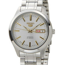 Seiko 5 Automatic Mens Watch Skeleton Back Japan Made SNKM43J1 UK Seller