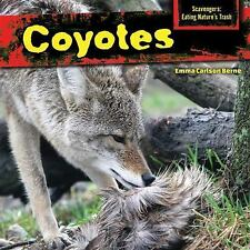 Coyotes (Scavengers: Eating Nature's Trash)-ExLibrary