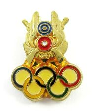 KOREAN OLYMPIC ТЕАМ SHOOTING WITH RIFLE UNDATED OLYMPIC PIN BADGE VERY RARE