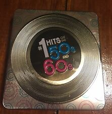 DRIFTERS EVERLY BROTHERS  #1 Hits of The 50s and 60s 3 CD METAL BOX SET