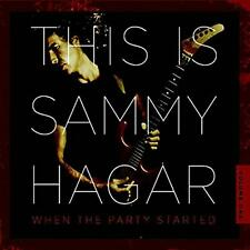 Sammy Hagar - This Is Sammy Hagar: When the Party Started (2016)  CD  NEW