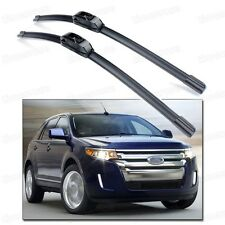 "26"" & 20"" 2x Car Windshield Wiper Blade Bracketless for Ford Edge 2007-2014"