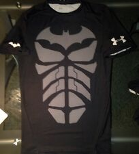 UNDER ARMOUR BATMAN DARK KNIGHT RISES ALTER EGO COMPRESSION SHIRT BLACK XL