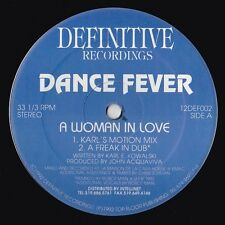 "DANCE FEVER A WOMAN IN LOVE ROBOTMAN DEFINITIVE +8 RARE ORIGINAL 12"" vinyl 1992"